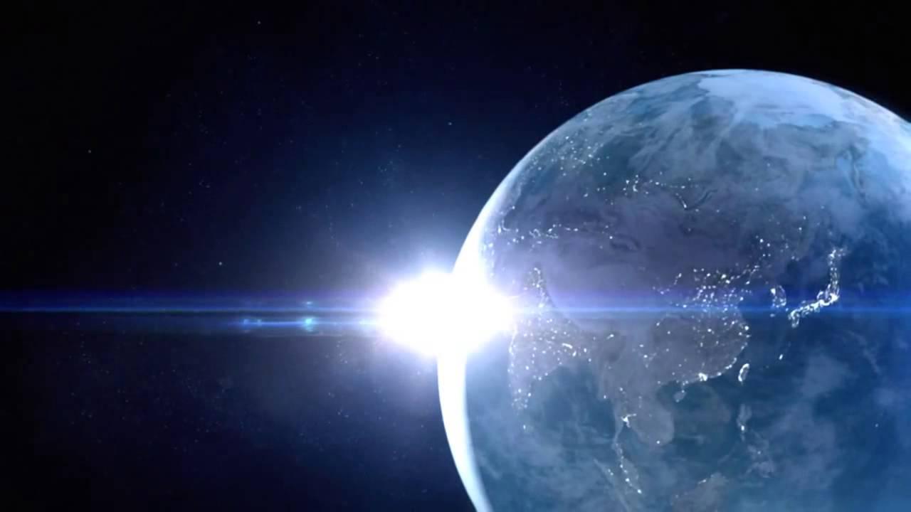 フリーHD映像素材地球・光・太陽・宇宙・壯大Free HDfootage Earth from YouTube - YouTube