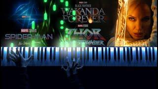 Marvel Studios Celebrates the Movies - Trailer Music (Piano Cover)