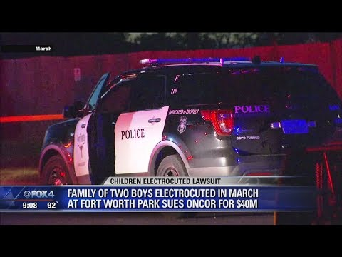 Oncor sued after children electrocuted