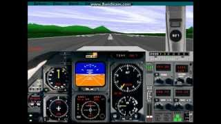 Flight Simulator 5.1: Grand Canyon (DOSBox and Bandicam test)