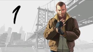 GTA 4 прохождение серия 1 (Привет, Америка!)