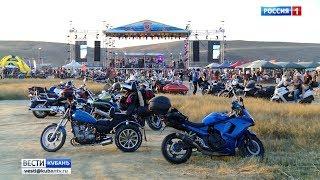 В Тамани прошел ежегодный байк-фестиваль