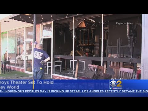 Fire Destroys WIP Theater In Edison Park