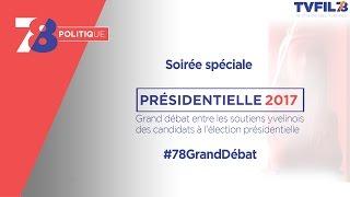 7/8 Politique – Grand débat du 1er tour de la présidentielle 2017