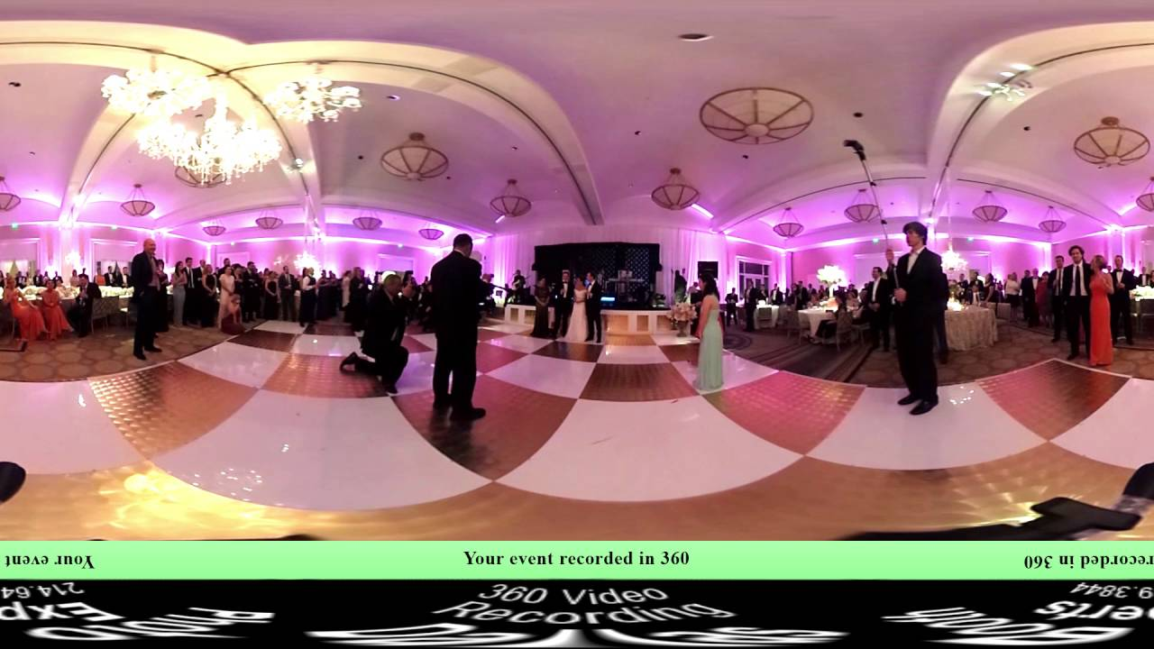 360 Video 360 View Of The Wedding Reception In Dallas Tx Belo