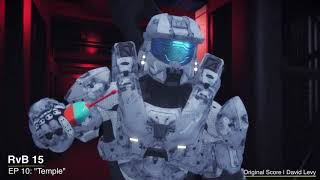 """Red vs Blue S15   EP 10 - """"Temple""""    David Levy"""