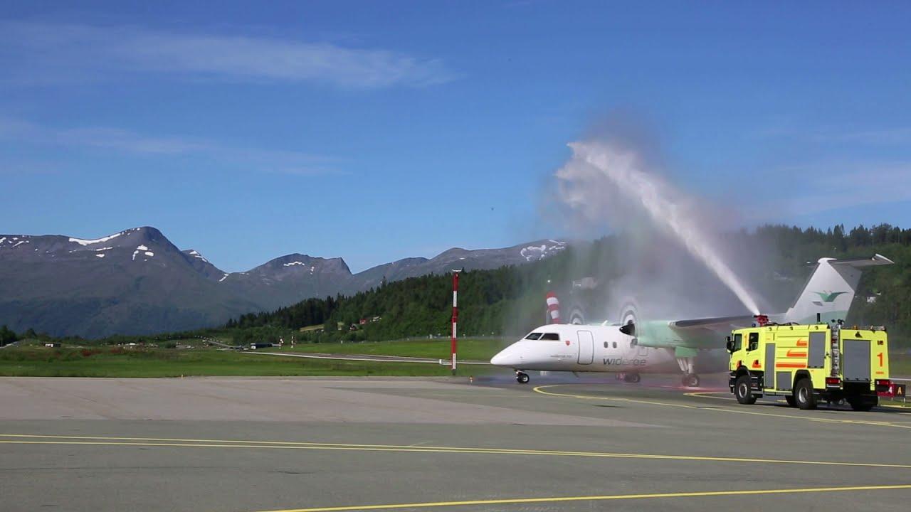 50 års jubileum ved Ørsta Volda Lufthamn Hovden