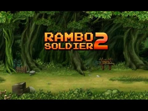 Soldiers Rambo 2 - Forest War - Android/iOS Gameplay