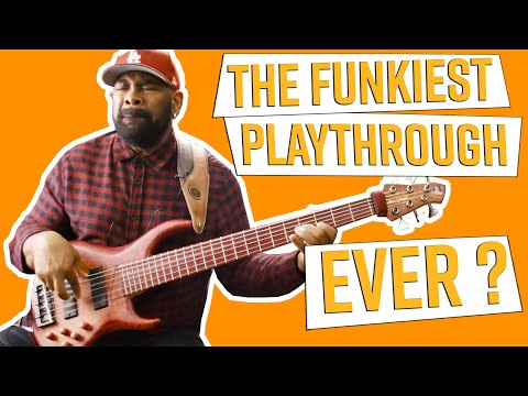 "Chaka Kahn ""I Feel For You / Ain't Nobody"" Andrew Gouche Bass Playthrough"