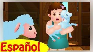 María Tenía un Corderito (Mary had a Little Lamb) | Canciones infantiles en Español | ChuChu TV