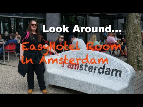 Look Around our EasyHotel Room in Amsterdam