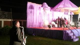 SEXAPHONE WEDDING /RECEPTION INDIA CRAZY CHAPS EVENTS ORGANISER 09826181112