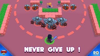 NEVER GIVE UP! 💪 300IQ Brawlers Funny Moments, Fails and Glitches Brawl Stars 2019