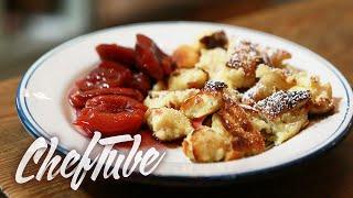 How To Make Shredded Pancakes (kaiserschmarrn) - Recipe In Description