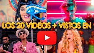 LOS 20 VIDEOS MÁS VISTOS EN YOUTUBE | WOW QUÉ PASA