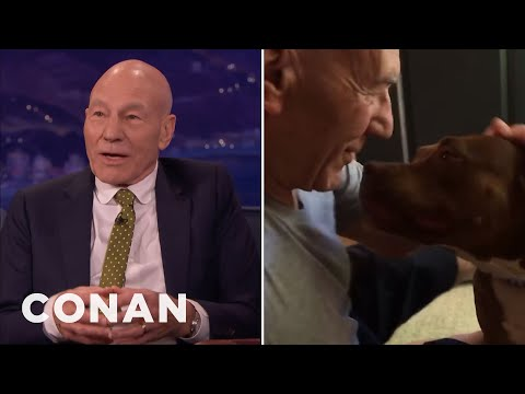 Adopt Sir Patrick Stewart's Dog  - CONAN on TBS
