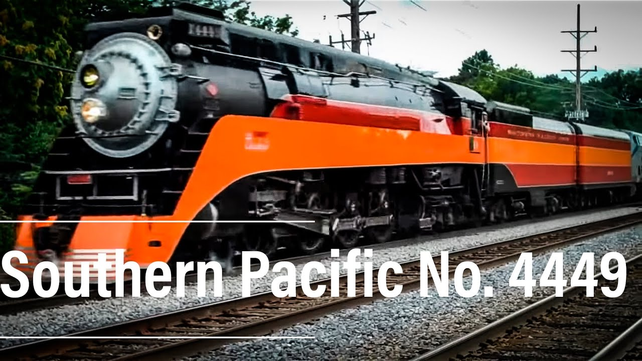 Southern Pacific Steam Loco 4449 Youtube