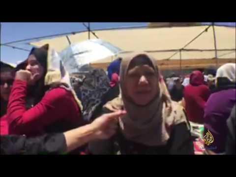 القدس- لقاءات مع المصلين بالمسجد الأقصى