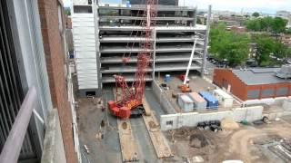 Hartford Hospital Employee Parking Garage Construction