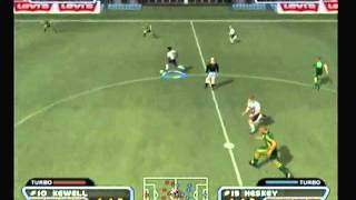 PS2 - Red Card Soccer - World Conquest - Match 1 - England vs Australia