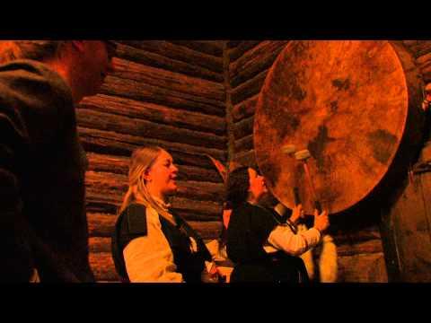 Rēvele - Liivikeelne laul, Viikingite Küla suur trumm - Livonian singing, Lapland šhaman drum