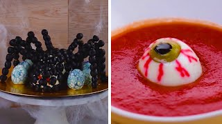 4 Clever Ways to Fright and Delight With These Not So Tricky Treats! | Easy DIY Hacks by Blossom