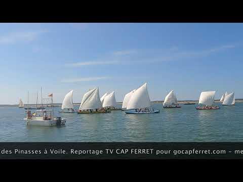 Pinasses à Voile Championnat du monde  Bassin d'Arcachon - Départ de la Régate Ep02