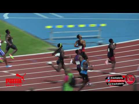 Rodgers over De Grasse in 100m, Carter 6th #GuadeloupeMeeting
