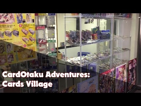 CardOtaku Adventures: HK Locals | Cards Village | Cheung Sha Wan