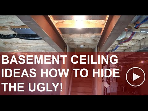 Basement Ceiling Ideas (Planning Your way Around the Obstacles) : ceiling ideas for basements  - Aeropaca.Org