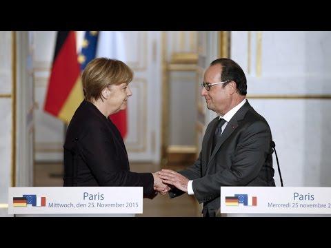 فرانس 24: Fight against the Islamic state group: François Hollande calls on Germany to do more