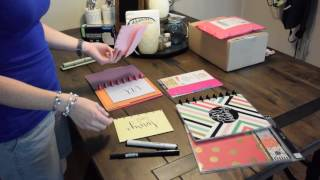 DIY Disc bound Envelope System