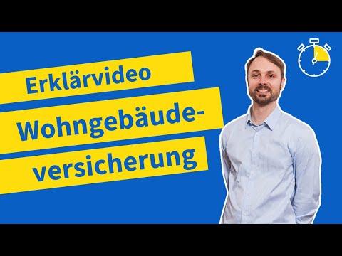 Wohngebäudeversicherung Einfach Erklärt   Rundum-Schutz Für Ihr Haus (Erklärvideo 2020)