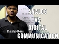Differences between Analog and Digital Communication