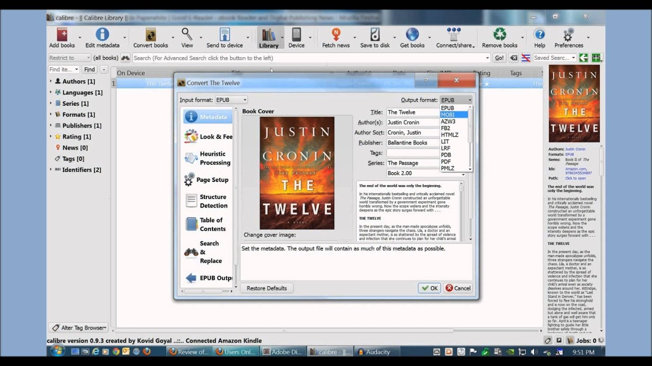 How To Library Ebook To Kindle Via Usb