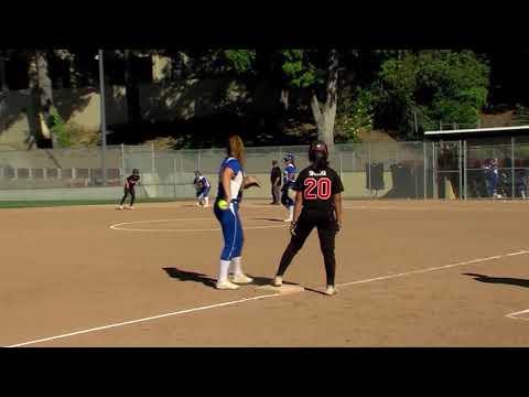 Gilroy At Los Gatos Softball | Christina Chavez Vs Mira Sharma 041719
