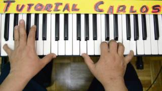 Sumergeme Jesus adrian romero - Tutorial Piano Carlos