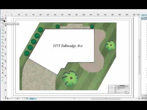Landscape site plan software earthscapes youtube for Site plan design software