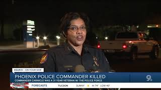 Phoenix police officer killed, 2 others injured in shooting