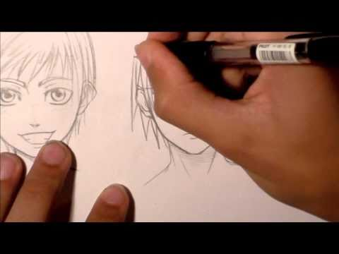 Tutorial - Disegnare capelli Manga • RichardHTT