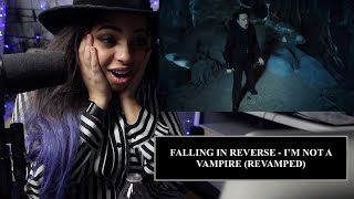 Music Teacher Reacts to FALLING IN REVERSE - I'm Not A Vampire (Revamped)