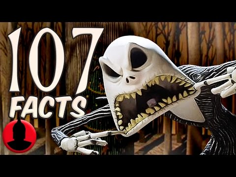 107 Facts About Nightmare Before Christmas! (ToonedUp #52) @ChannelFred
