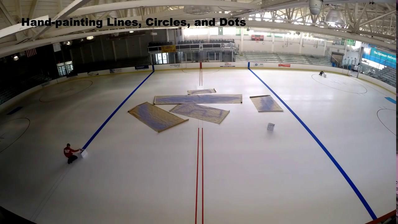 cc859e45fb Aviator Sports Ice Rink Renovation - YouTube