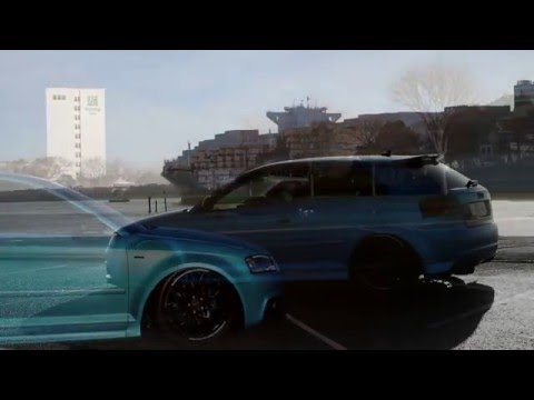 Monsterwraps | Audi wrap in 3M 1080 Satin Ocean Shimmer - Car wrap UK