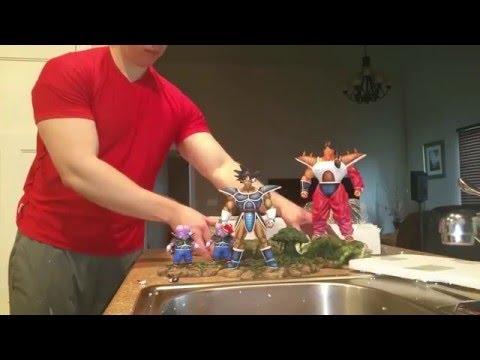dbz turles team resin statue unboxing