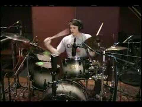 Nick Cates drum performance