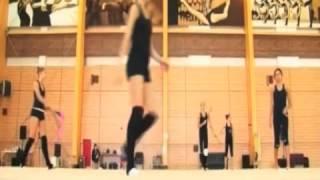 Rhythmic Gymnastics Training - Life in Novogorsk