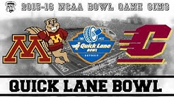 Quick Lane Bowl Sim (Minnesota vs Central Michigan) - NCAA 14