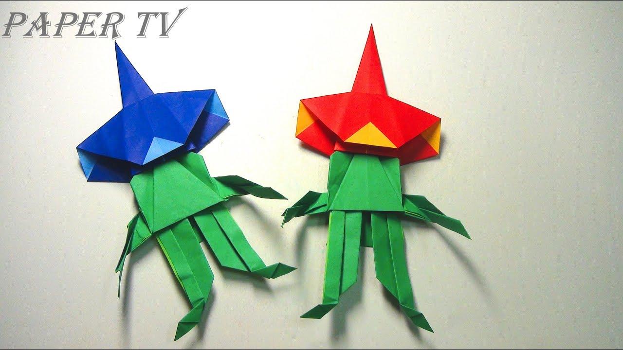 Paper tv origami alien no2 2 paper tv origami alien no2 2 2 jeuxipadfo Images