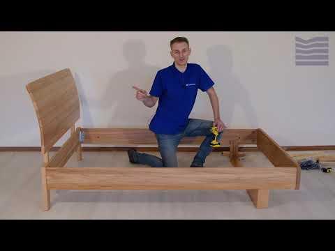 Инструкция по сборке кровати Санреми, фабрики Dreamline